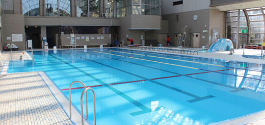 【朗報】プールで競泳水着の美人にぶつかった結果wwwww